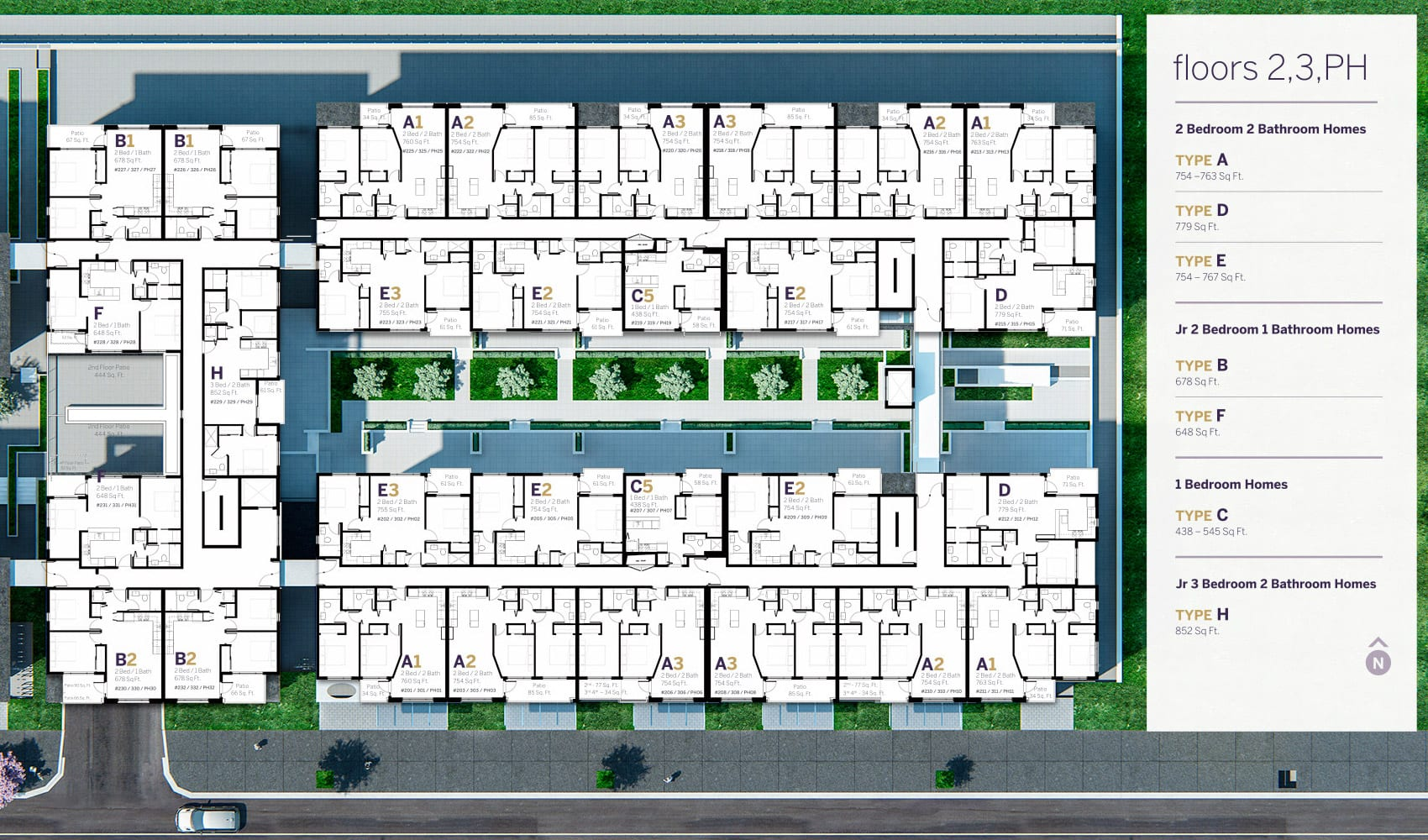 Infinity burnaby dimex group for Multi family condo plans
